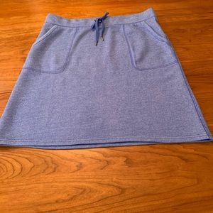 LL Bean skirt size medium. Blue